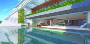 Bali, une résidence avec une magnifique piscine