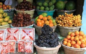 Image de fruit, marché de Bali
