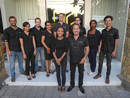 L'équipe Pierre Porte & Partners à Bali
