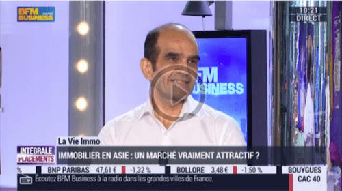 Interview de Patrick Monti sur BFMTV