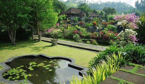 Jardin relaxant à Bali