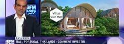 Interview BFM de Patrick Monti sur l'investissement immobilier à l'étranger