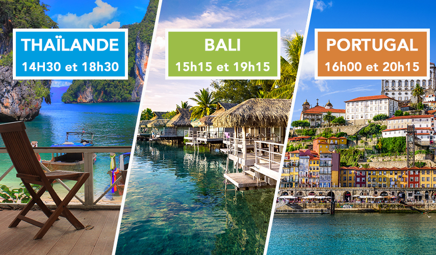 Thaïlande, Bali et Portugal Pourquoi investir dans ces destinations ?