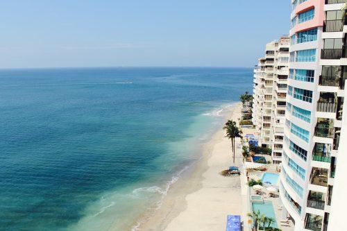 Appartement en bord de plage avec vue sur la mer