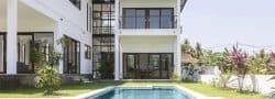 Villa luxueuse avec piscine, au cœur des rizières