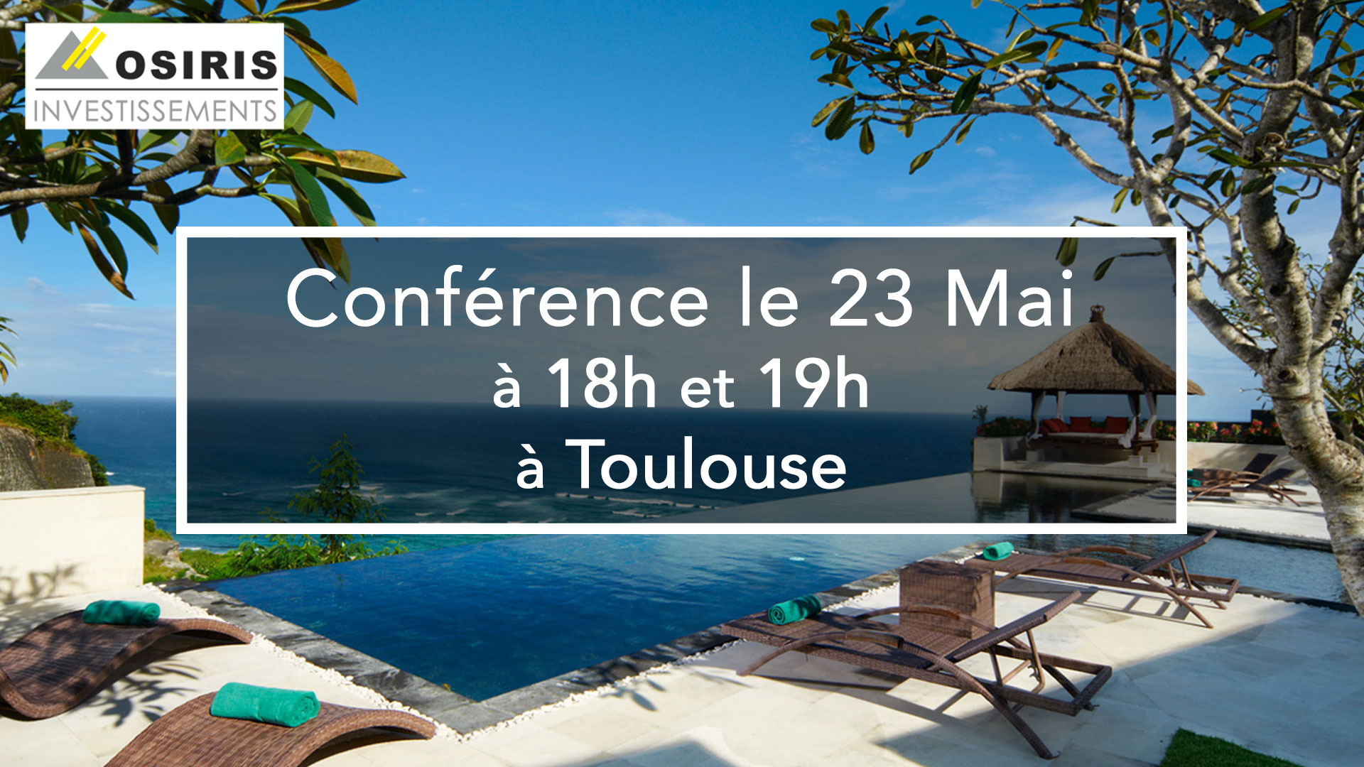 Conférence le 23 Mai 2018 à Toulouse
