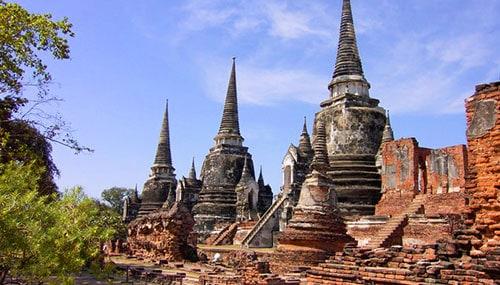 Temple d'Ayutthaya