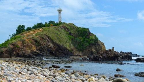 Galets de la plage de Koh Lanta