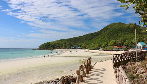 Belle plage de Pattaya