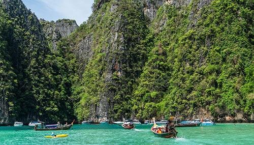 Somptueux paysage de Phuket