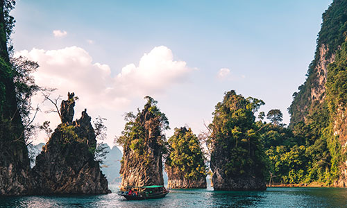 Paysage de la Thaïlande